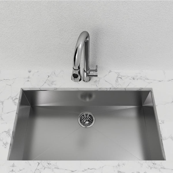 "Cantrio Single Bowl 32"" Stainless Steel undermount Kitchen sink"