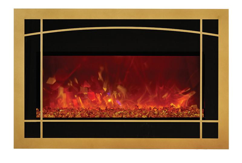 Amantii Arbor style door w/ Screen for INSERT-30-4026 Electric Fireplace Amantii