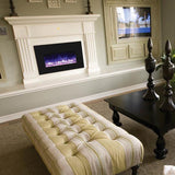 Amantii Medium Insert w/ blk gls surround, log set and 3 colors of media