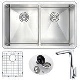 ANZZI VANGUARD Series K32192A-034 Kitchen Sink