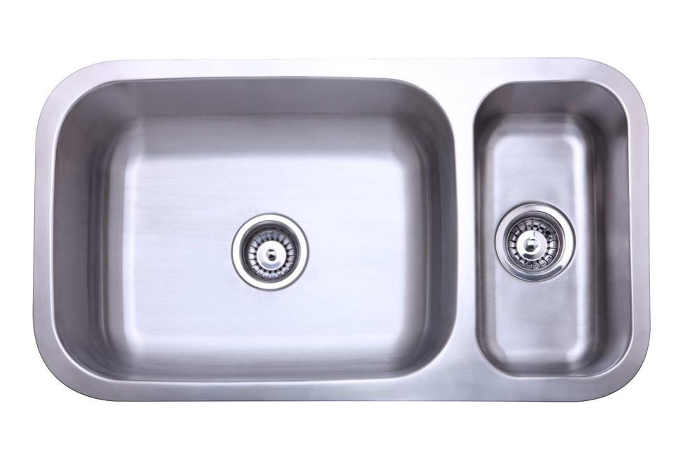 Gourmetier KU321897DBN Undermount Double Bowl Kitchen Sink Kitchen Sink Kingston Brass Default Title