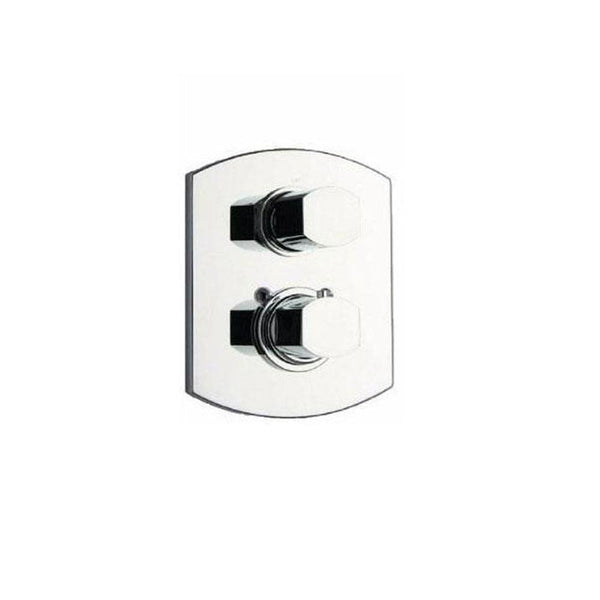"Latoscana Novello Thermostatic Valve With 3/4"" Ceramic Disc In Chrome"