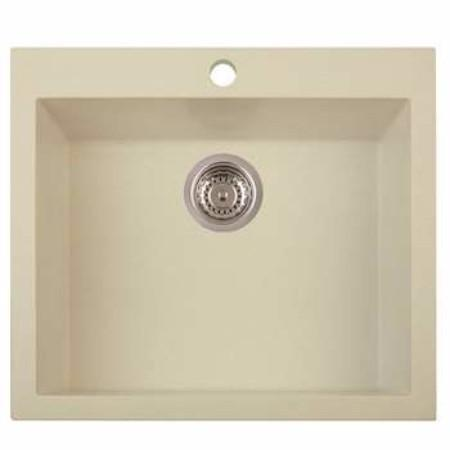 Latoscana ON6010 Kitchen Sink in 55UG SAHARA Finish Kitchen Sinks Latoscana