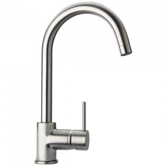 Latoscana Elba Single Handle Lavatory Faucet Faucet In A Brushed Nickel Finish touch on bathroom sink faucets Latoscana