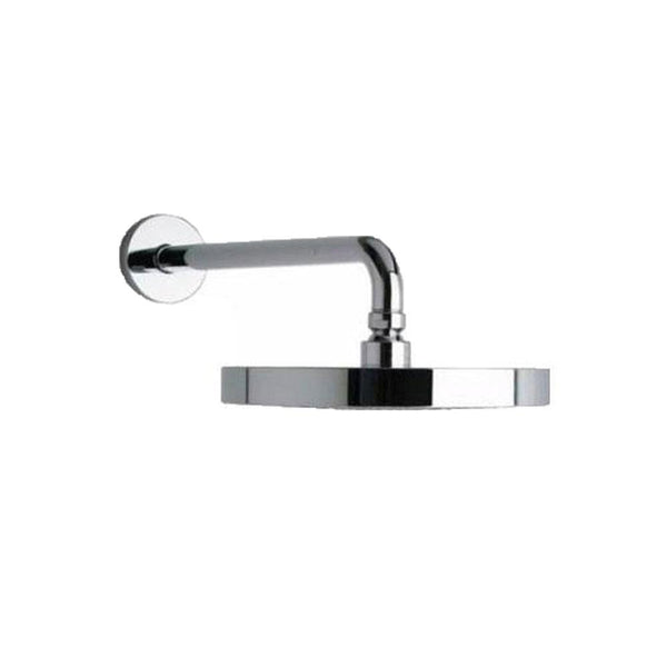 "Latoscana Morgana 8"" Rain Shower Head With 12"" Arm In A chrome Finish"