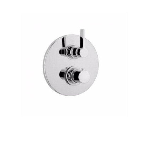 Latoscana Elix Thermostatic Valve With 2 Way Diverter Volume Control In A Chrome Finish