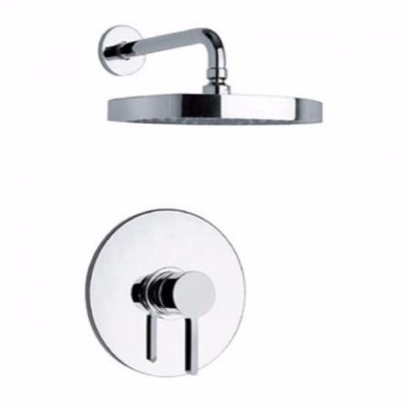 Latoscana Elix Pressure Balance Valve Shower Set In A Chrome Finish bathtub and showerhead faucet systems Latoscana