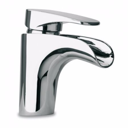 Latoscana Novello Watefall Single Lever Handle Lavatory Faucet In Chrome touch on bathroom sink faucets Latoscana