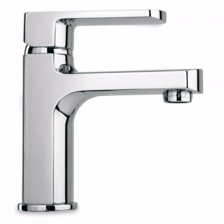 Latoscana Novello Single Lever Handle Lavatory Faucet In Chrome touch on bathroom sink faucets Latoscana