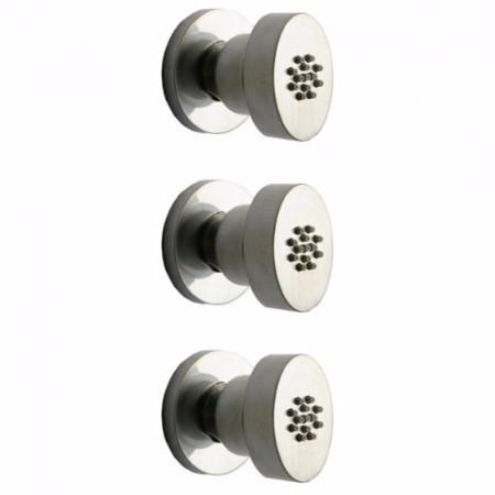 Latoscana Novello 3 Body Jets In Chrome bathroom fixture hardware parts Latoscana