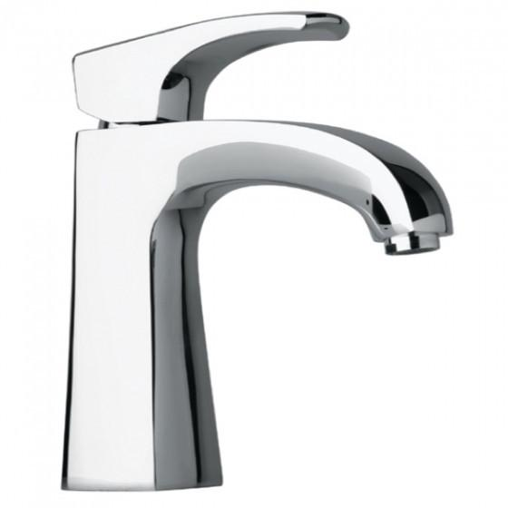 Latoscana Lady Small Single Handle Lavatory Faucet In A Chrome finish touch on bathroom sink faucets Latoscana