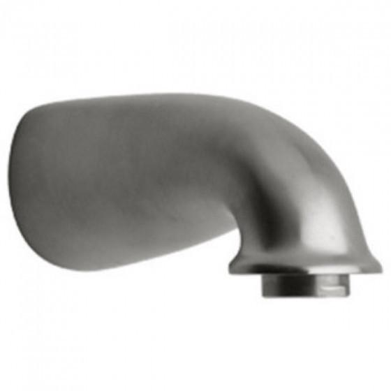 Latoscana Water Harmony Tub Spout In A Brushed Nickel Finish touch on bathroom sink faucets Latoscana