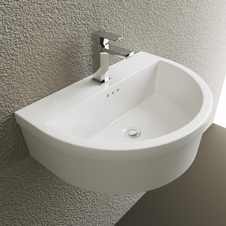 Cantrio Vitreous China wall hung sink Ceramic Series Cantrio