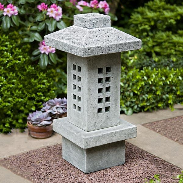 Campania International Cast Stone Naka Lantern Urn/Planter Campania International