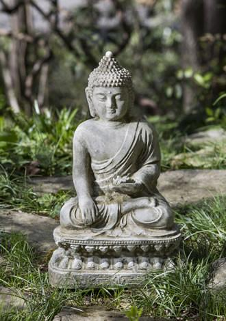 Seated Lotus Buddha Statuary Statuary Campania International