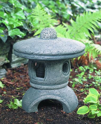 Rustic Medium Pagoda Statuary Statuary Campania International