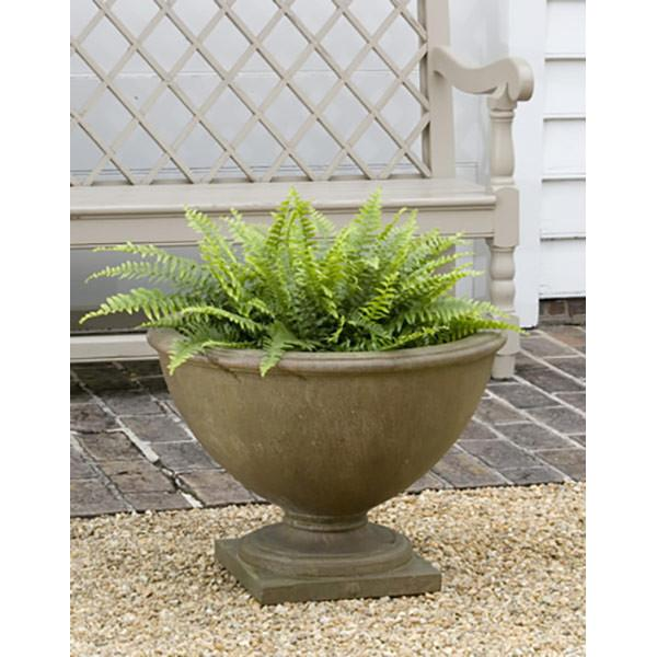 Campania International Cast Stone Williamsburg Bassett Hall Urn Urn/Planter Campania International