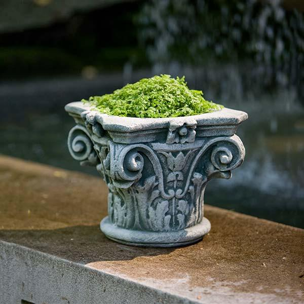 Campania International Cast Stone Longwood Capital Planter Urn/Planter Campania International