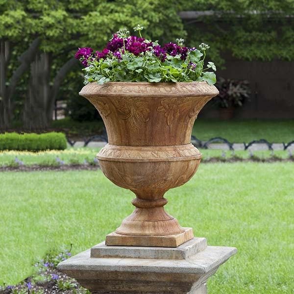 Campania International Cast Stone Smithsonian Flight of Fancy Urn Urn/Planter Campania International