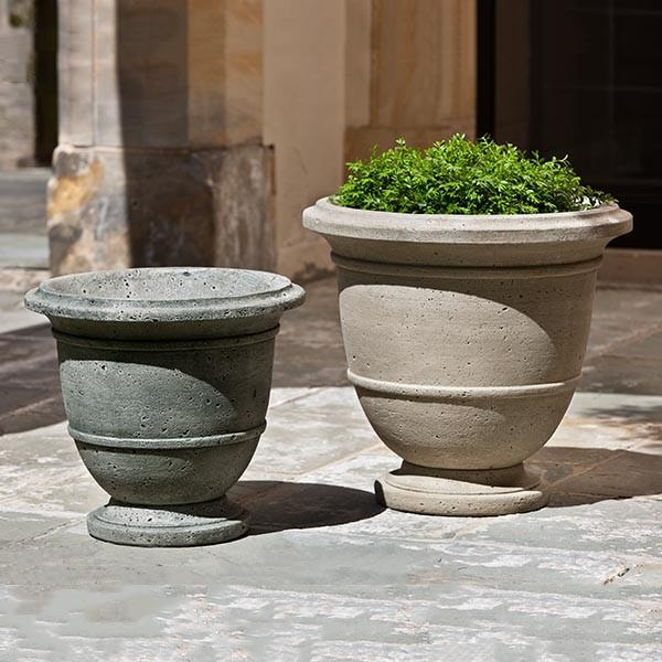 Campania International Cast Stone Relais Large Urn Urn/Planter Campania International