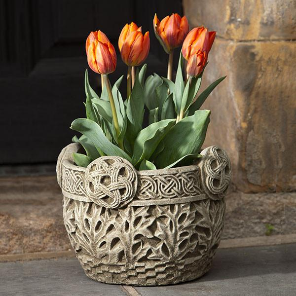 Campania International Cast Stone Garth Planter Urn/Planter Campania International