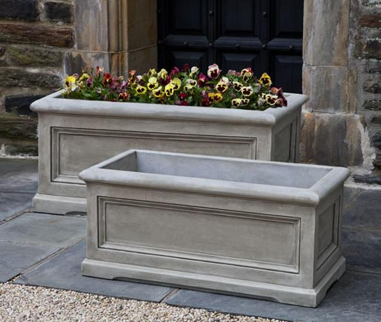 Campania International Cast Stone Medium Orleans Window Box Urn/Planter Campania International
