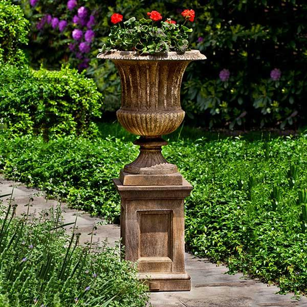 Campania International Cast Stone Smithsonian Classical Urn Urn/Planter Campania International