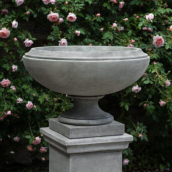 Campania International Cast Stone Jensen Urn, Large Urn/Planter Campania International