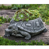 Campania International Cast Stone Turtle Planter, Small