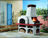 Palazzetti PARENZO Barbecue Outdoor Cooking Grill &  Pizza Oven By Paini