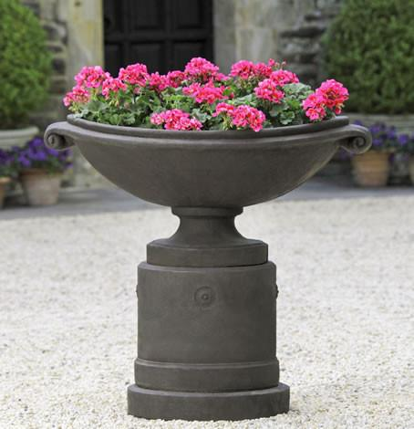 Campania International Cast Stone Medici Pedestal (2 pcs) Urn/Planter Campania International