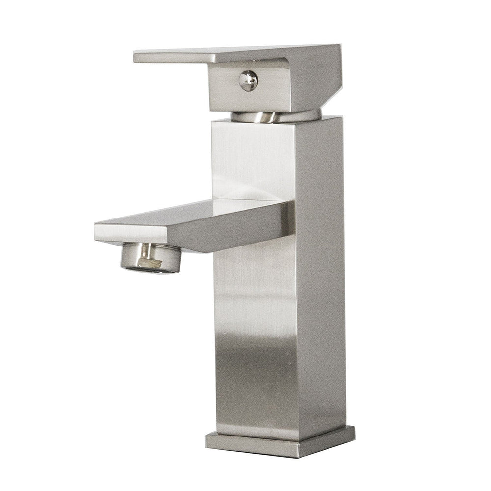 Virtu USA PS-403-BN Orion Brushed Nickel Single Handle Faucet Bathroom Faucet Virtu USA