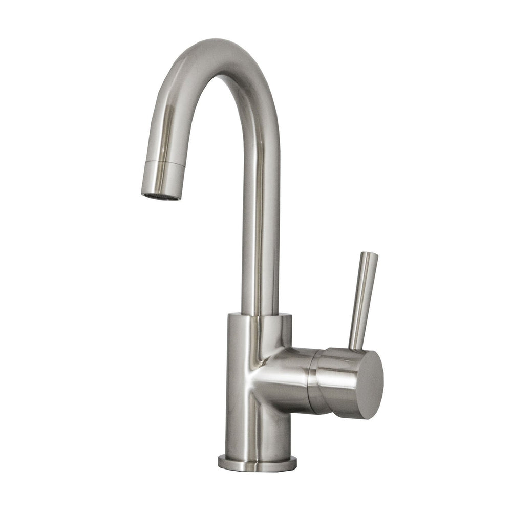 Virtu USA PSK-501-BN Lithios Brushed Nickel Single Handle Faucet Kitchen Faucet Virtu USA