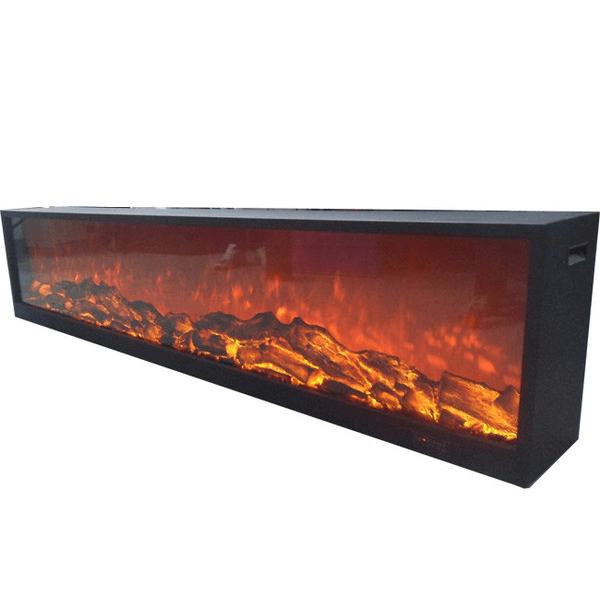 Touchstone Emblazon 50 Wall Length Fireplaces Electric Fireplace Touchstone