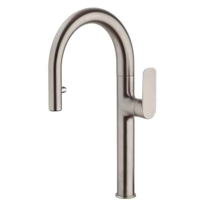 Single handle pull-down spray kitchen faucet Kitchen Faucet lastoscana Copper
