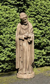 St Francis w/baby bird Statuary Statuary Campania International