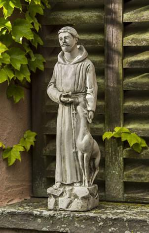 Small St. Francis with Animals Statuary Statuary Campania International