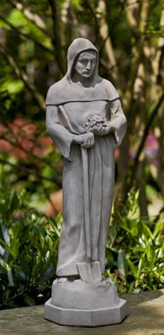 Medium St. Fiacre Statuary
