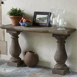 Vicenza Console Cast Stone Outdoor Garden Table