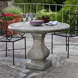 Vence Cast Stone Outdoor Garden Table