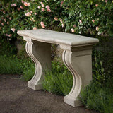 Loire Console Cast Stone Outdoor Garden Table
