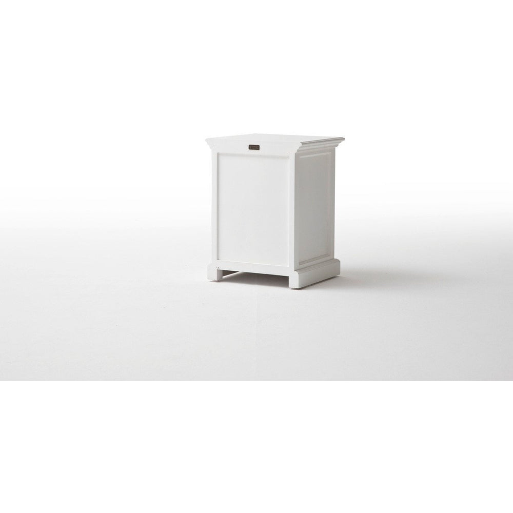 NovaSolo Halifax T757 Bedside Table with dividers Bedside Table NovaSolo