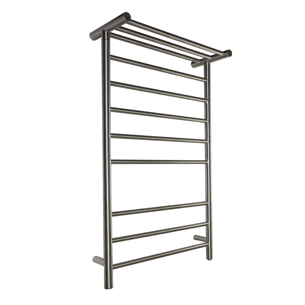 Virtu USA Koze 122 Wall Mounted Electric Towel Warmer in Brushed Nickel Towel Warmers Virtu USA