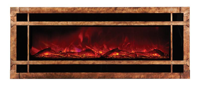 Amantii Blacksmith style steel overlay only for WM-BI-48-5823 Electric Fireplace Amantii