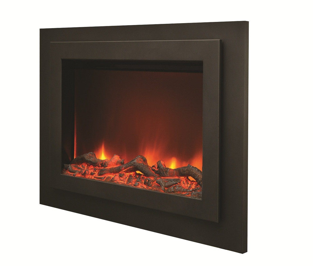 Amantii Steel overlay for ZC-FM-45 Electric Fireplace Amantii
