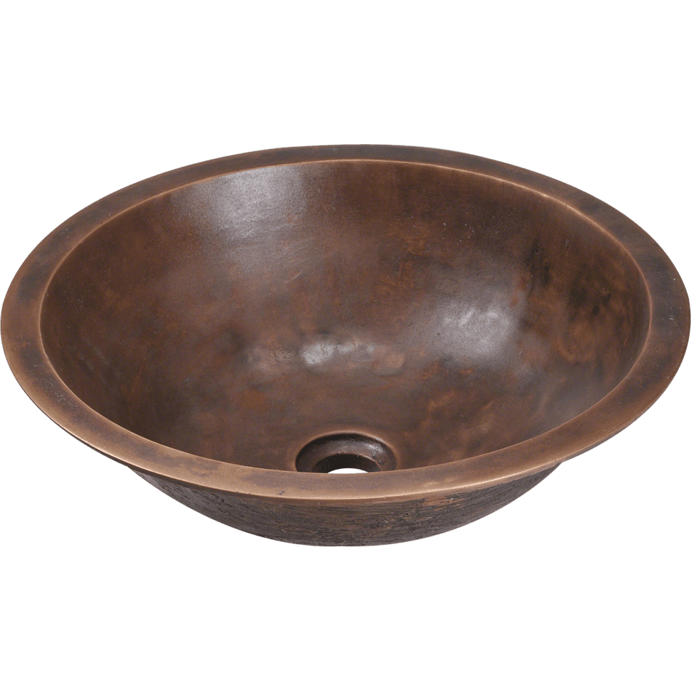 Polaris P159 Single Bowl Bronze Bathroom Sink Bathroom Sink Polaris
