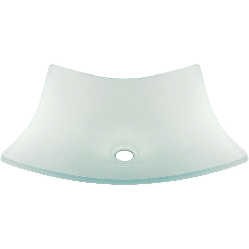 Polaris P226 Frosted Glass Vessel Bathroom Sink Bathroom Sink Polaris