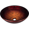 Polaris P816 Red Lava Glass Bathroom Sink Bathroom Sink Polaris
