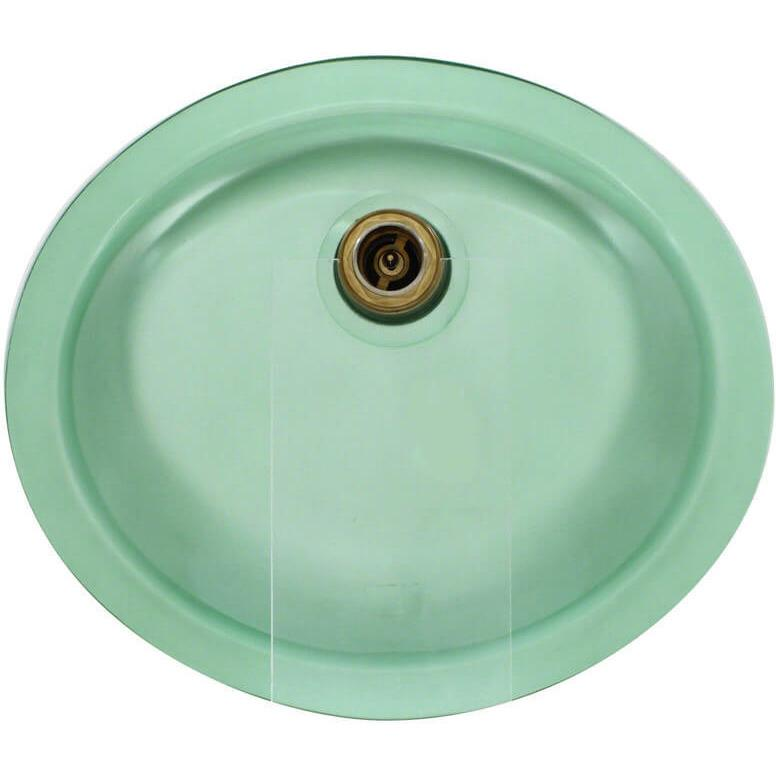 Polaris PUGME Undermount Glass Bathroom Sink Bathroom Sink Polaris