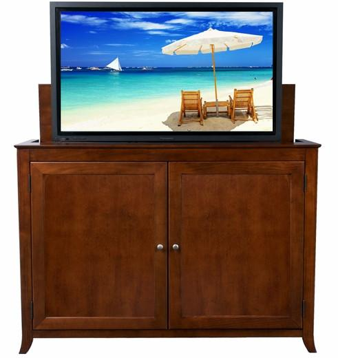 "Touchstone Berkeley Full Size Lift Cabinets For Up To 60"" Flat Screen Tv'S Tv Lift Cabinets Touchstone"
